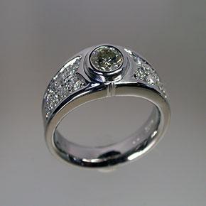 0.5カラットダイヤモンドの指輪リフォーム